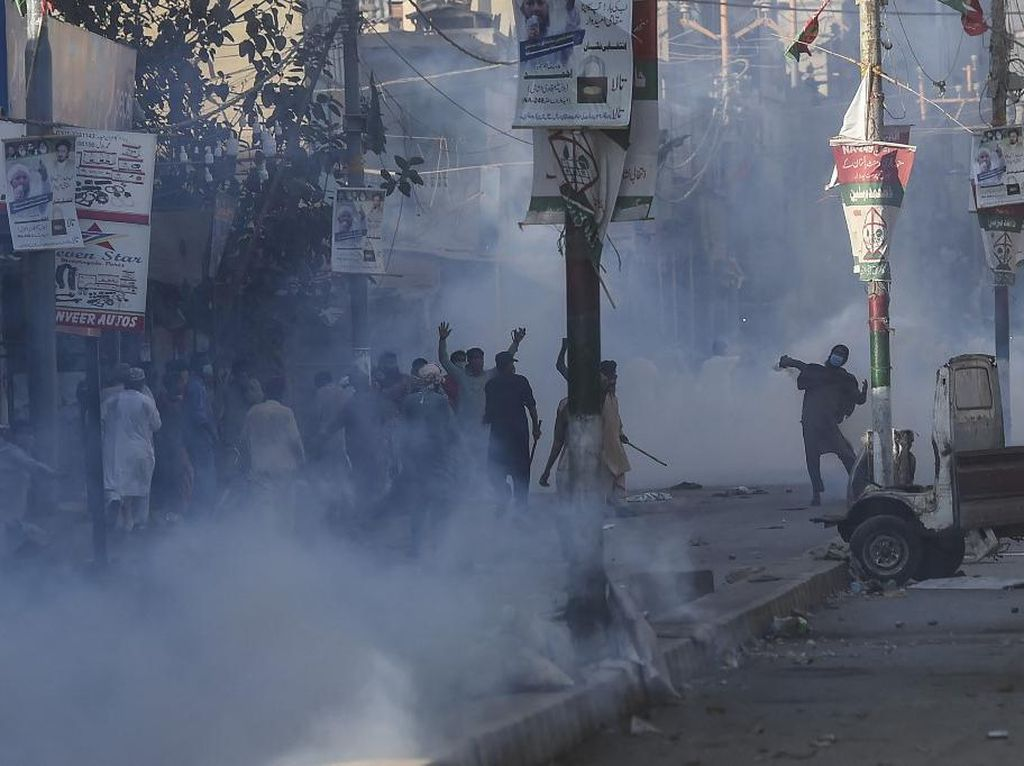 Imbas Demo Besar-besaran, Partai Islam TLP Dilarang di Pakistan
