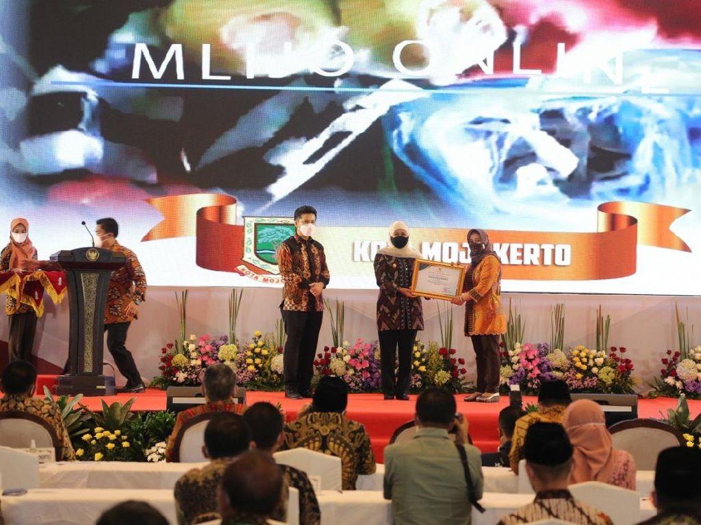 Kota Mojokerto Jadi Daerah dengan Pembangunan Terbaik di Jawa Timur
