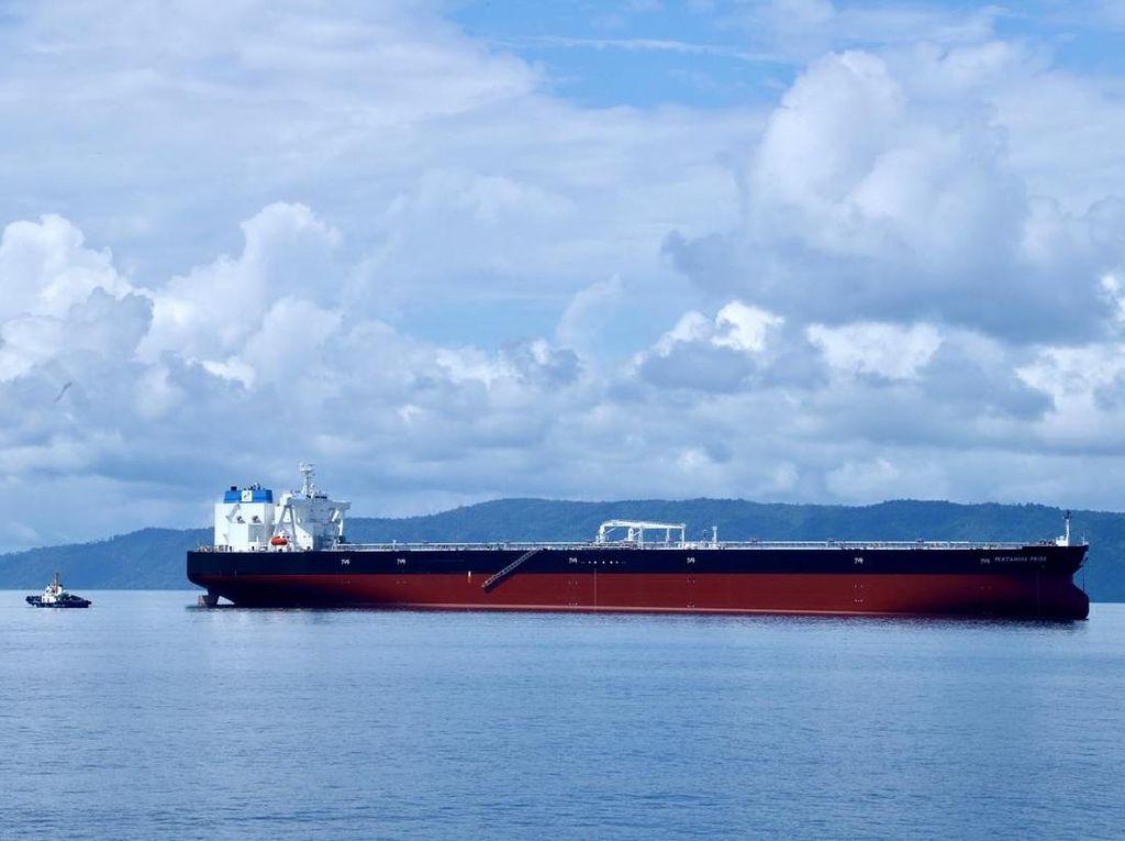 Berlayar dari Jepang, Kapal Tanker Raksasa Pertamina Tiba di RI