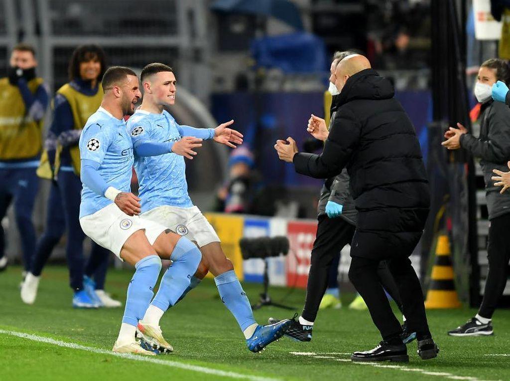 Man City Unggulan Juara Liga Champions 2020/2021 Versi detikers