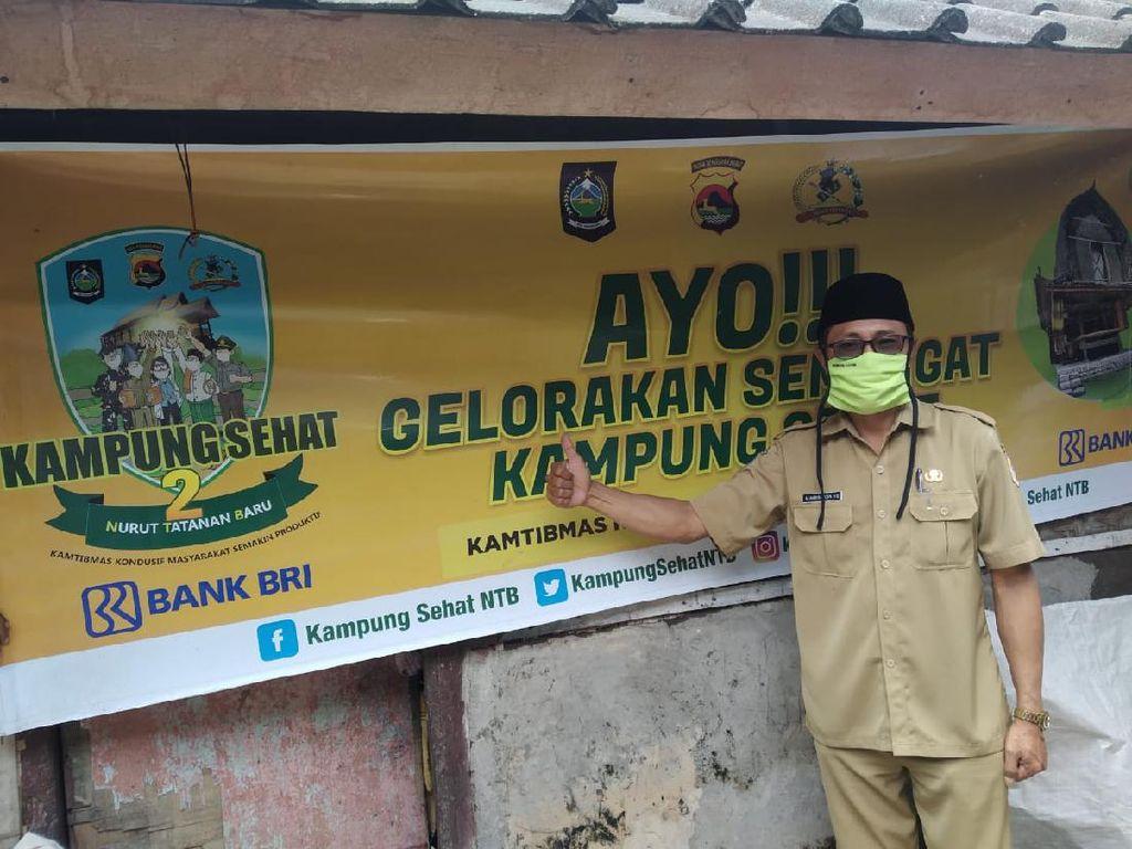 Ikut Program Kampung Sehat 2, Desa di Lombok Timur Disiplinkan Prokes