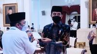 Pesan Jokowi, Dana Zakat untuk Bantu yang Terdampak Corona