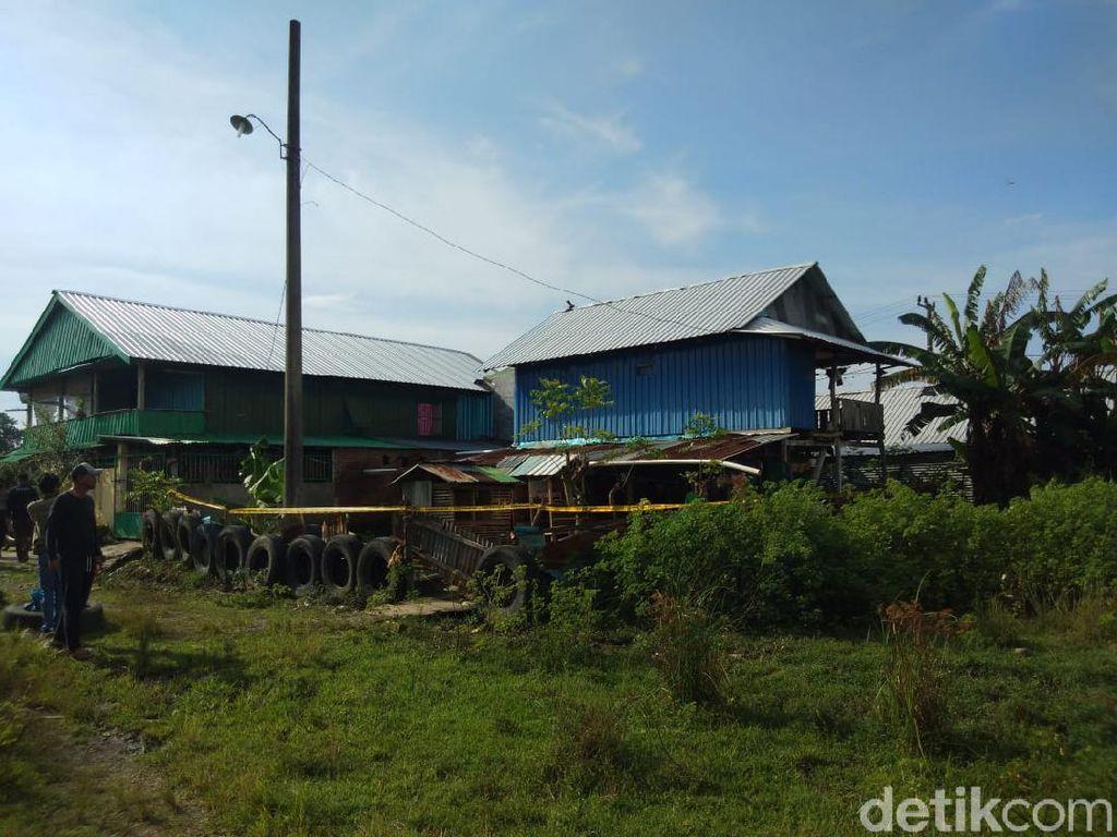 Penampakan Rumah Teroris Makassar yang Ditembak Mati Densus 88