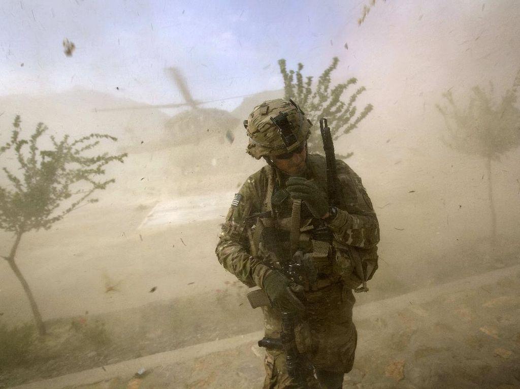 Serangan Drone Hantam Pangkalan Militer Irak yang Tampung Pasukan AS
