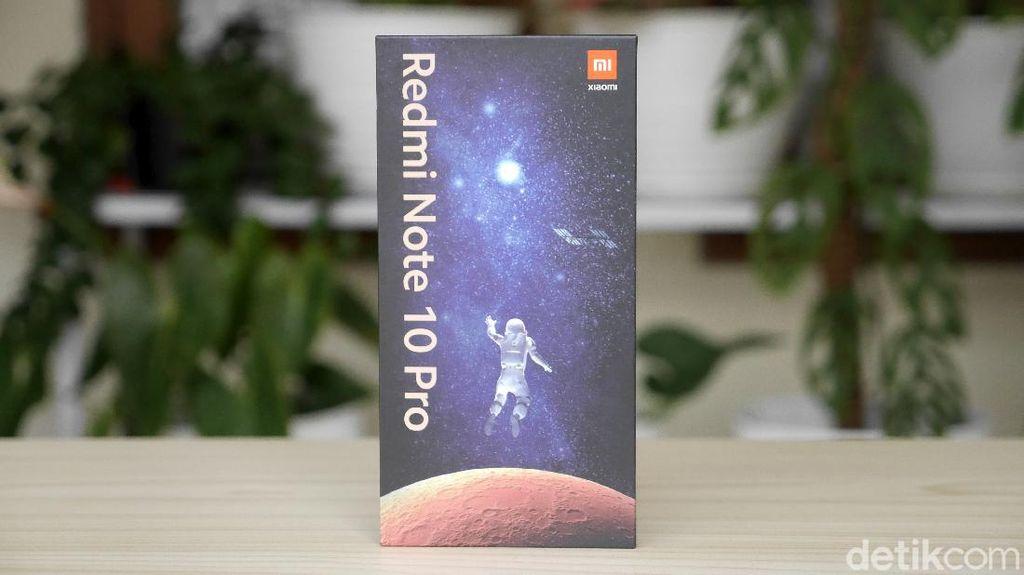 Unboxing Xiaomi Redmi Note 10 Pro edisi MFF 2021