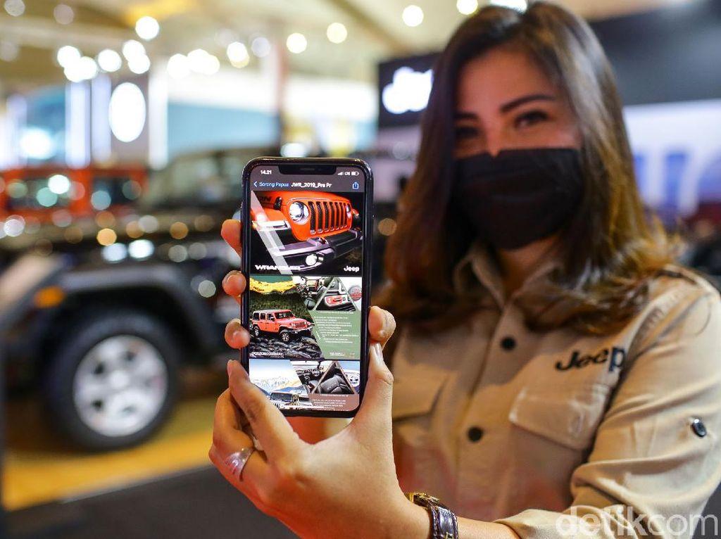Akali Pandemi, Pameran Mobil Kini Andalkan Barcode