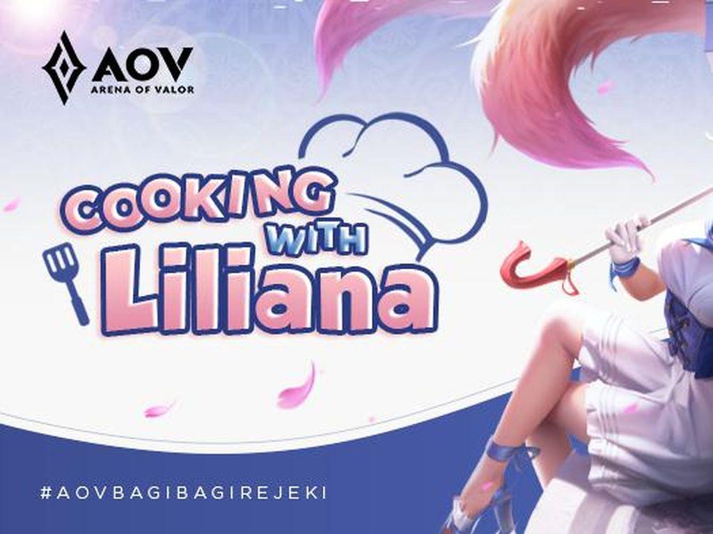 Mau Punya Skin AOV Gratis Spring Breeze Liliana? Ini Caranya