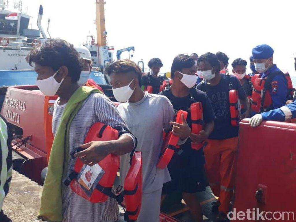 Kronologi Kapal Nelayan Terbakar hingga Karam di Laut Jawa