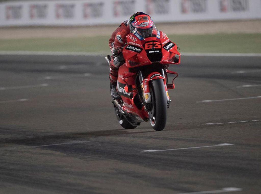 Klasemen MotoGP 2021: Bagnaia Girang Berjarak 1 Poin dari Quatararo