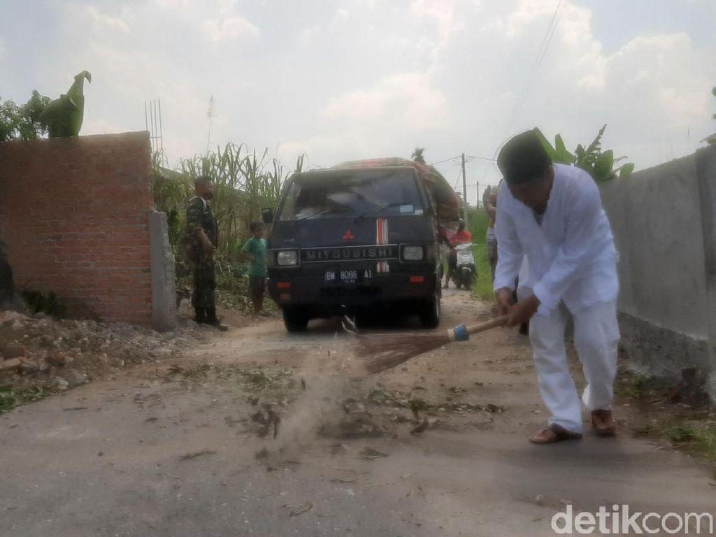 Gempar Jalan di Pekanbaru Ditutup Tembok Akhirnya Dibongkar