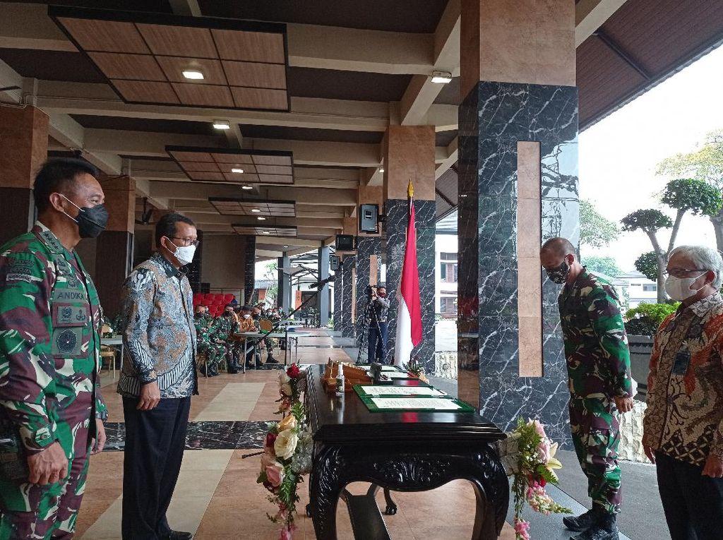 Jenderal Andika Teken MoU Pembiayaan 10 Ribu Rumah Prajurit TNI AD