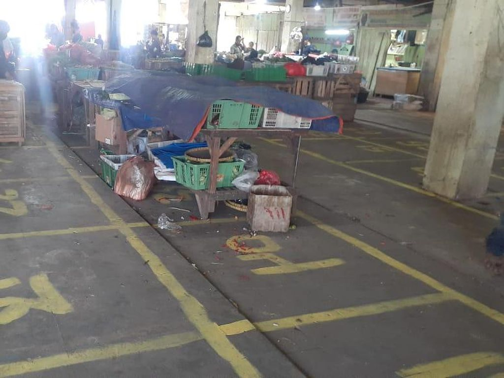 Pedagang Pasar Minggu Korban Kebakaran Dapat Lapak Relokasi 1,4 Meter
