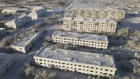 Kisah Sedih di Balik Kota Hantu Rusia yang Tertutup Es