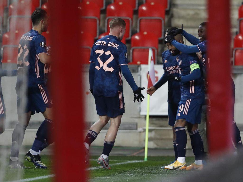 Slavia Vs Arsenal: Menang Telak, The Gunners ke Semifinal Jumpa Villarreal