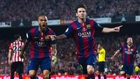 Video Kilas Balik: Gol Indah Messi di Final Copa del Rey 2015