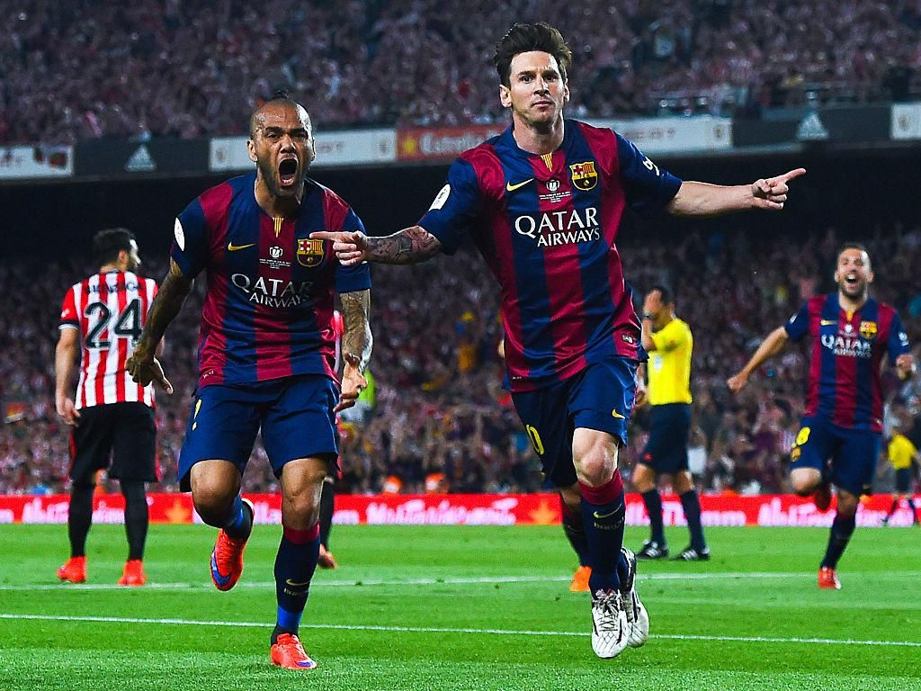 Video Kilas Balik: Gol Indah Messi di Final Copa del Rey 2015