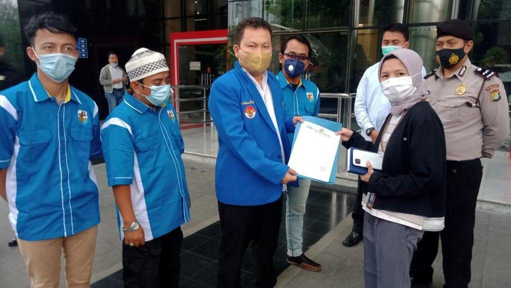 Sambangi KPK, KNPI Dorong Tuntaskan Kasus Samin Tan