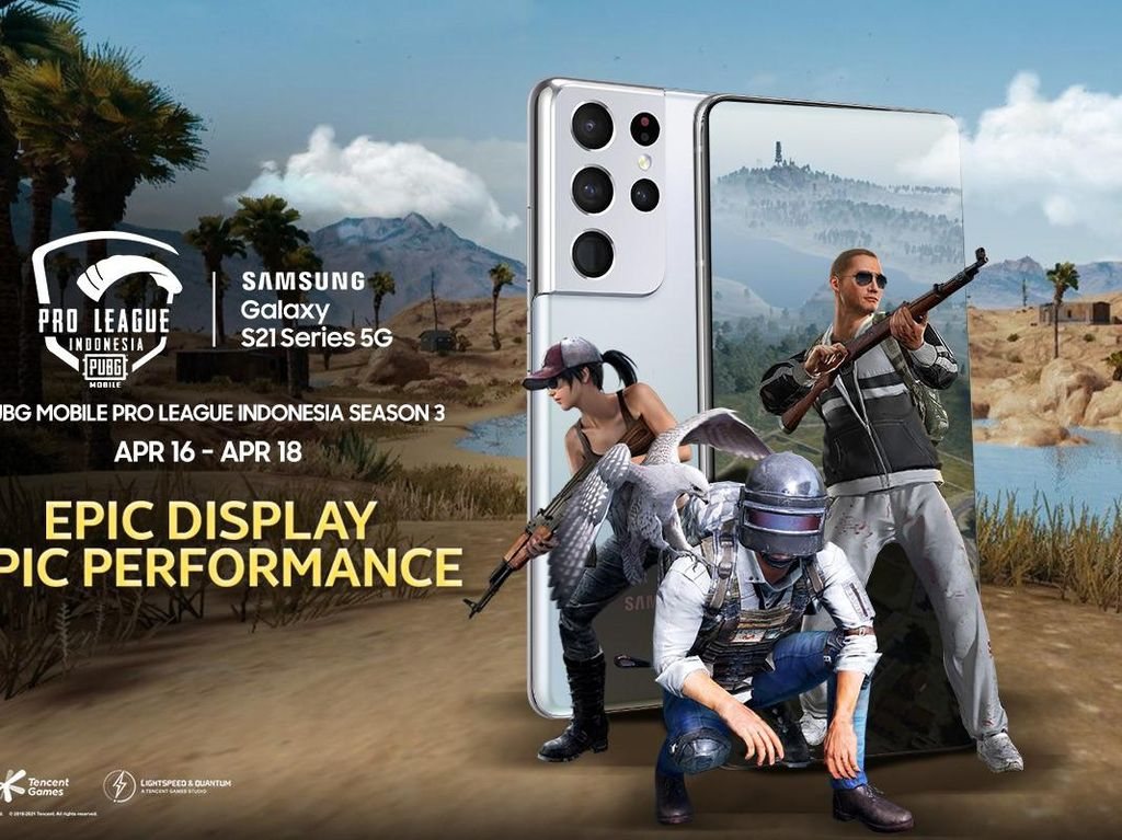 Samsung Galaxy S21 Series 5G Jadi Official Smartphone PUBG Pro League