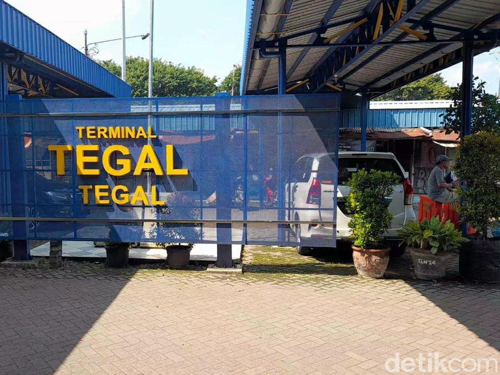 11 Ribu Penumpang Bus dari Luar Kota Masuk ke Terminal Tegal