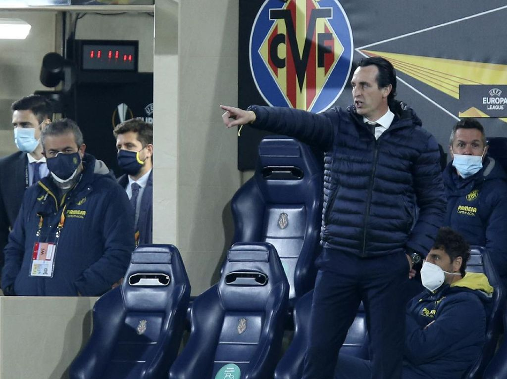 Emery Tepikan Kenangan di Arsenal demi Bawa Villarreal ke Final