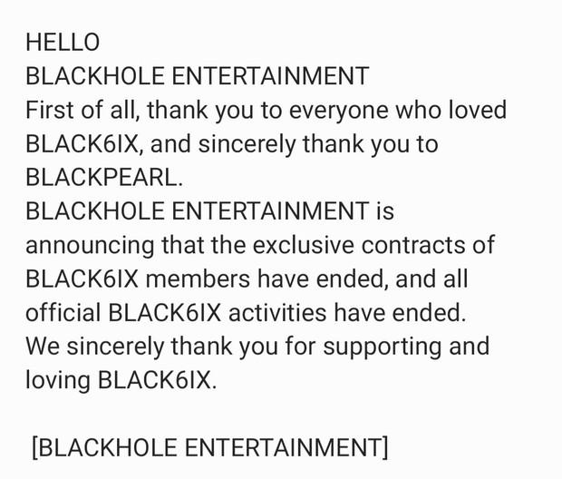 BLACK6IX resmi dibubarkan (foto: twitter.com/blck6ix_twt)