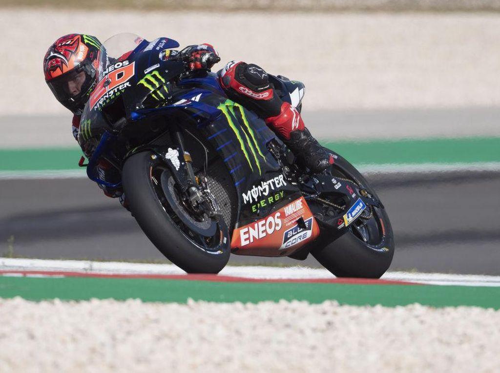 Hasil FP3 MotoGP Portugal: Fabio Quartararo Terdepan