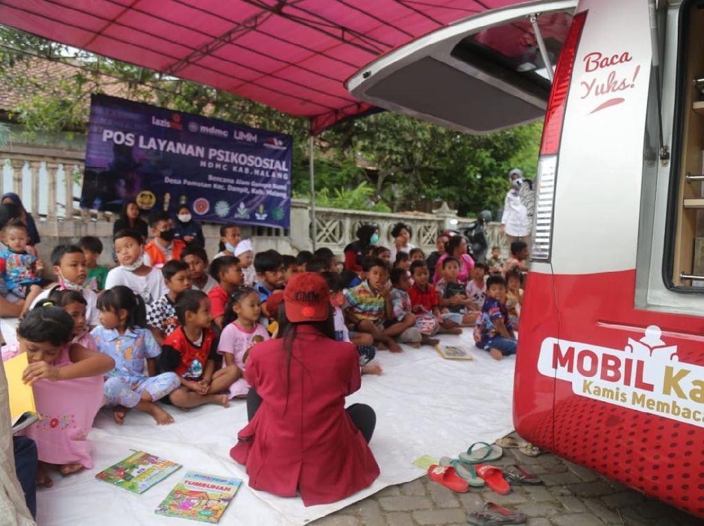 Melihat Senyum Anak di Malang yang Sempat Trauma Usai Gempa Mengguncang