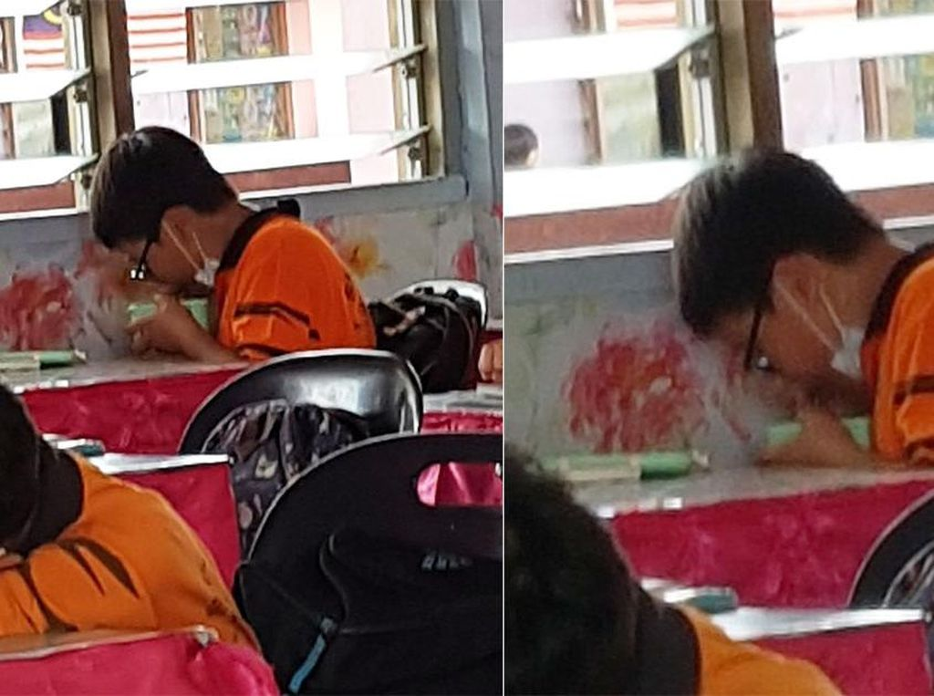Hormati Temannya Berpuasa, Bocah Nonmuslim Ini Makan Diam-diam di Kelas