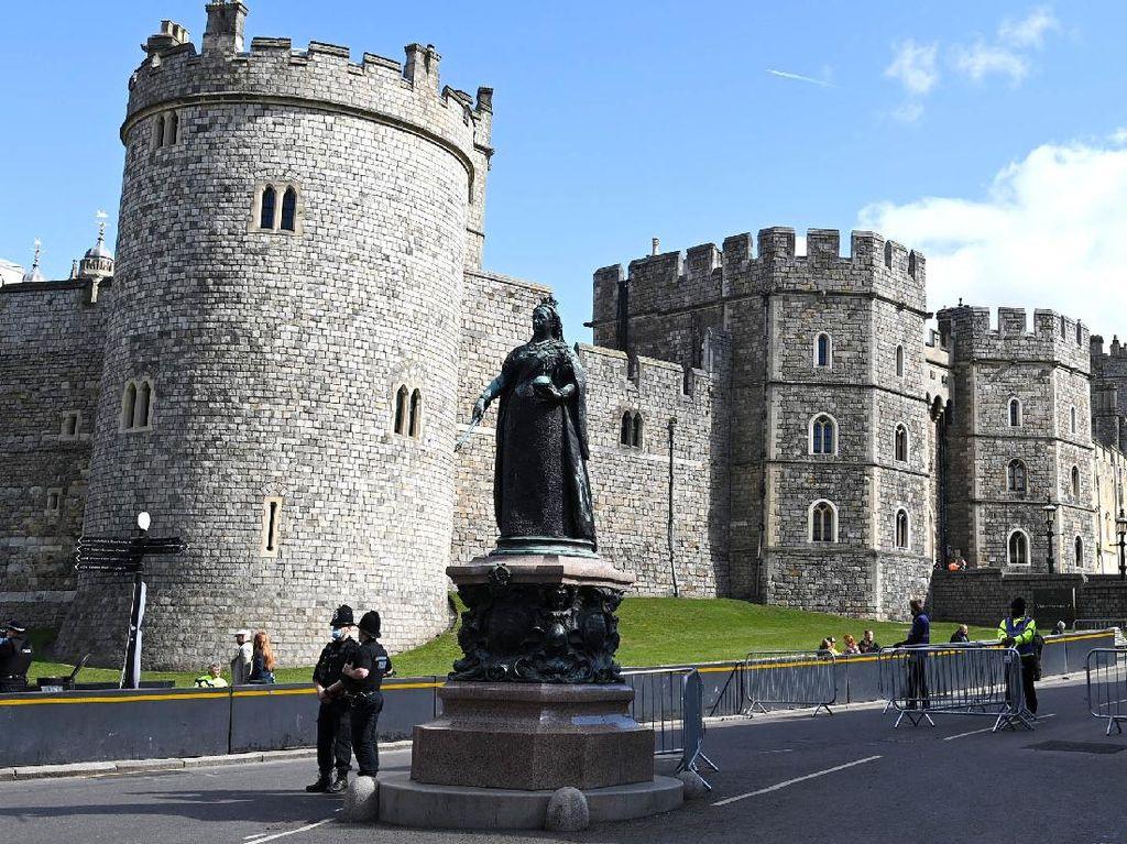 Suasana Inggris Usai Prosesi Pemakaman Pangeran Philip