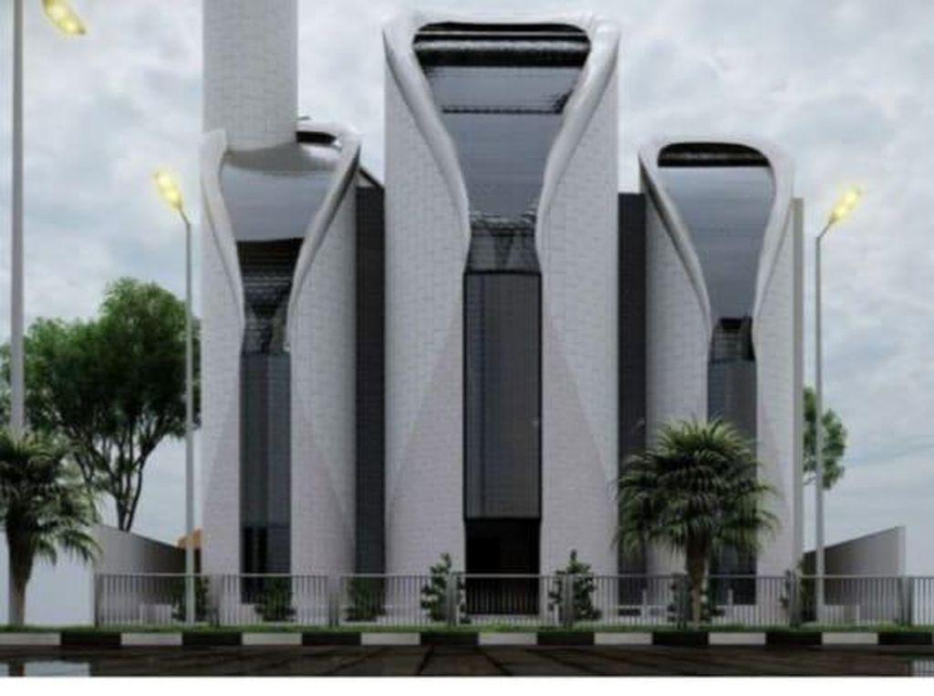 Mirip PS5, Netizen Ramai Komentari Masjid yang Didesain Ridwan Kamil