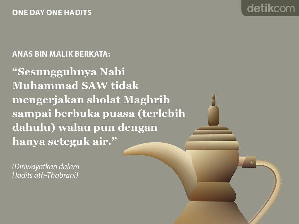 Nabi Muhammad Tak Sholat Maghrib Sebelum Berbuka Puasa
