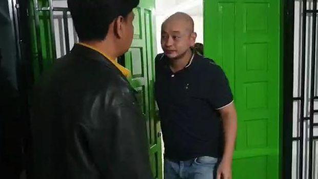 Wajah pelaku penganiaya perawat RS Siloam Palembang