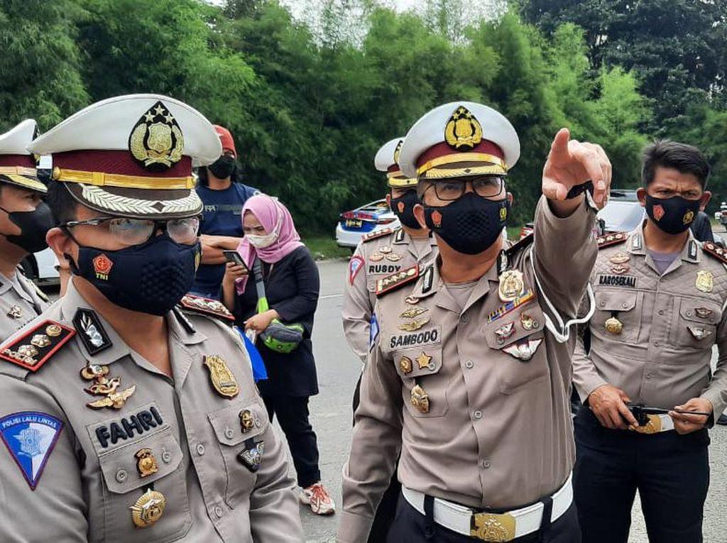 Diperluas, Penyekatan Keluar Jakarta Kini Tersebar di 31 Titik