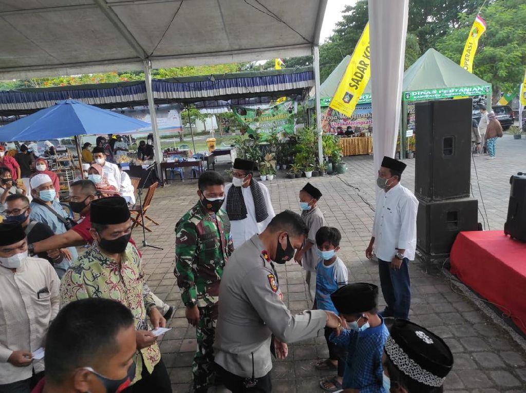 Dukung Kampung Sehat 2, Lombok Tengah Perketat Prokes Pasar Ramadhan