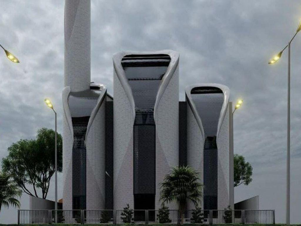 Netizen Sebut Desain Masjidnya Mirip PS5, Ridwan Kamil: Kata Ibu-ibu Seperti Termos