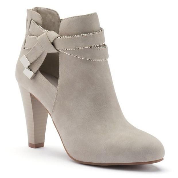 ankle boots (sumber : pinterest.com/kohls)