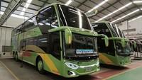PO Gunung Harta Luncurkan Bus Tingkat, Pakai Kursi Social Distancing