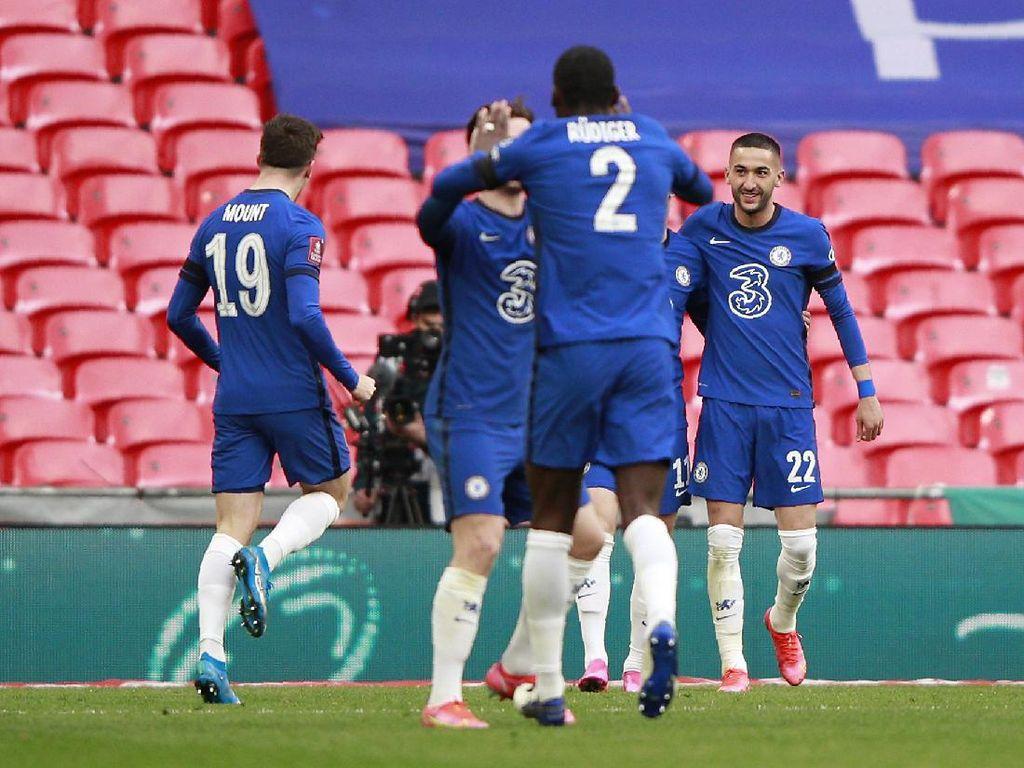 Rahasia Chelsea Singkirkan Manchester City di Piala FA