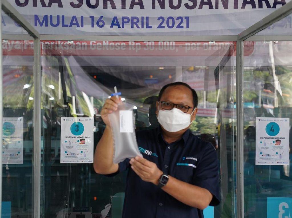 Pelabuhan Tanjung Perak Kini Terapkan Tes GeNose C19