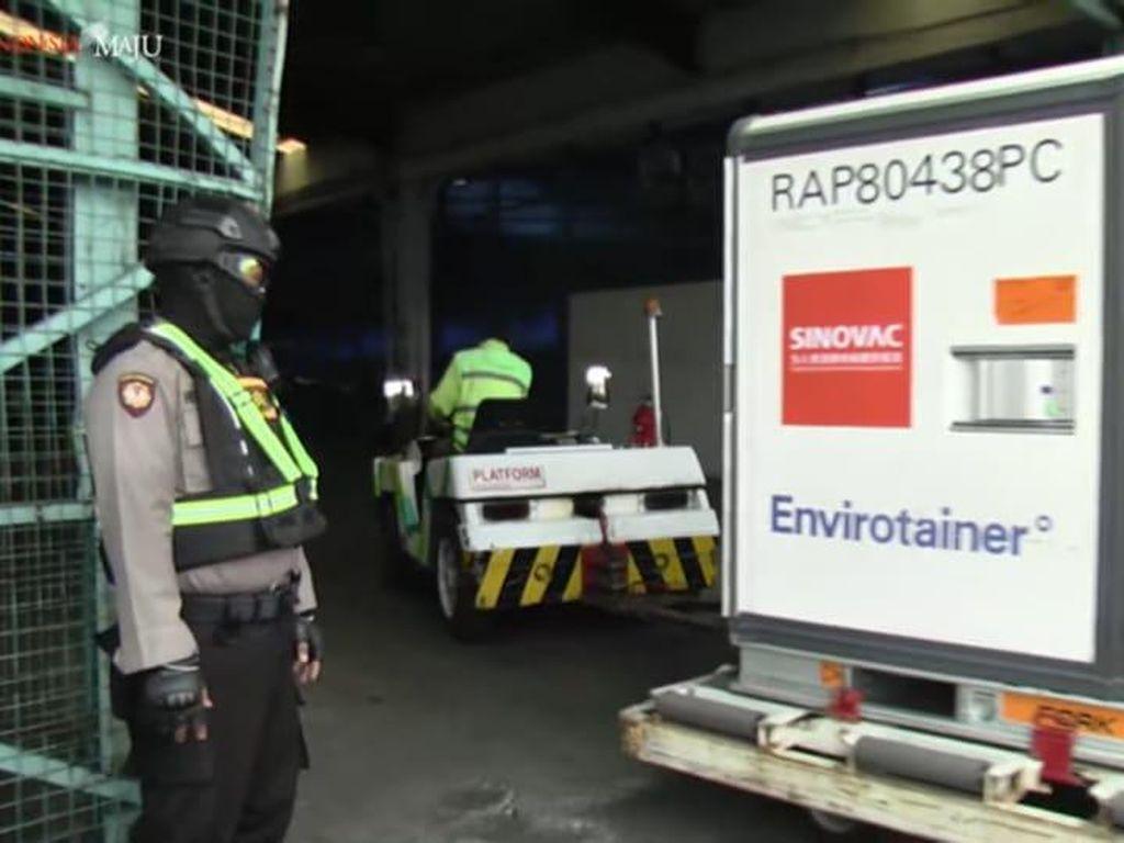 Kedatangan 6 Juta Bulk Vaksin Corona Sinovac di Indonesia