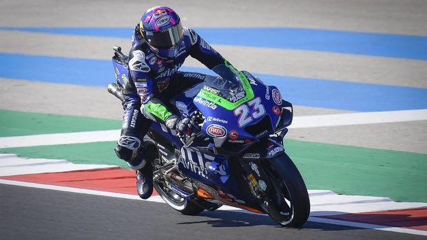 Enea Bastianini di Kualifikasi MotoGP Portugal 2021.