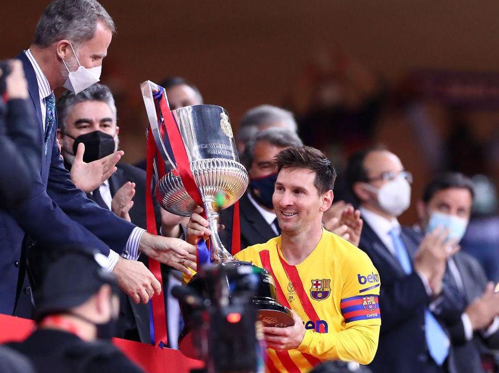 Barcelona Menjanjikan, Messi Yakin Mau Pergi?