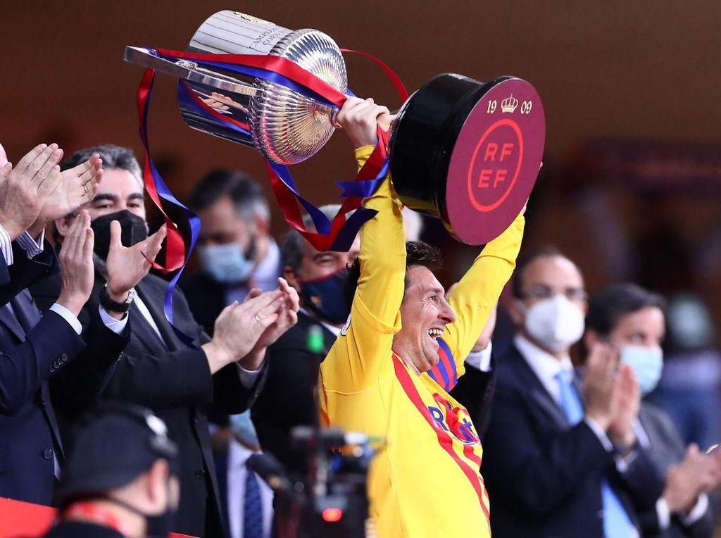 Foto: Senyum Lionel Messi