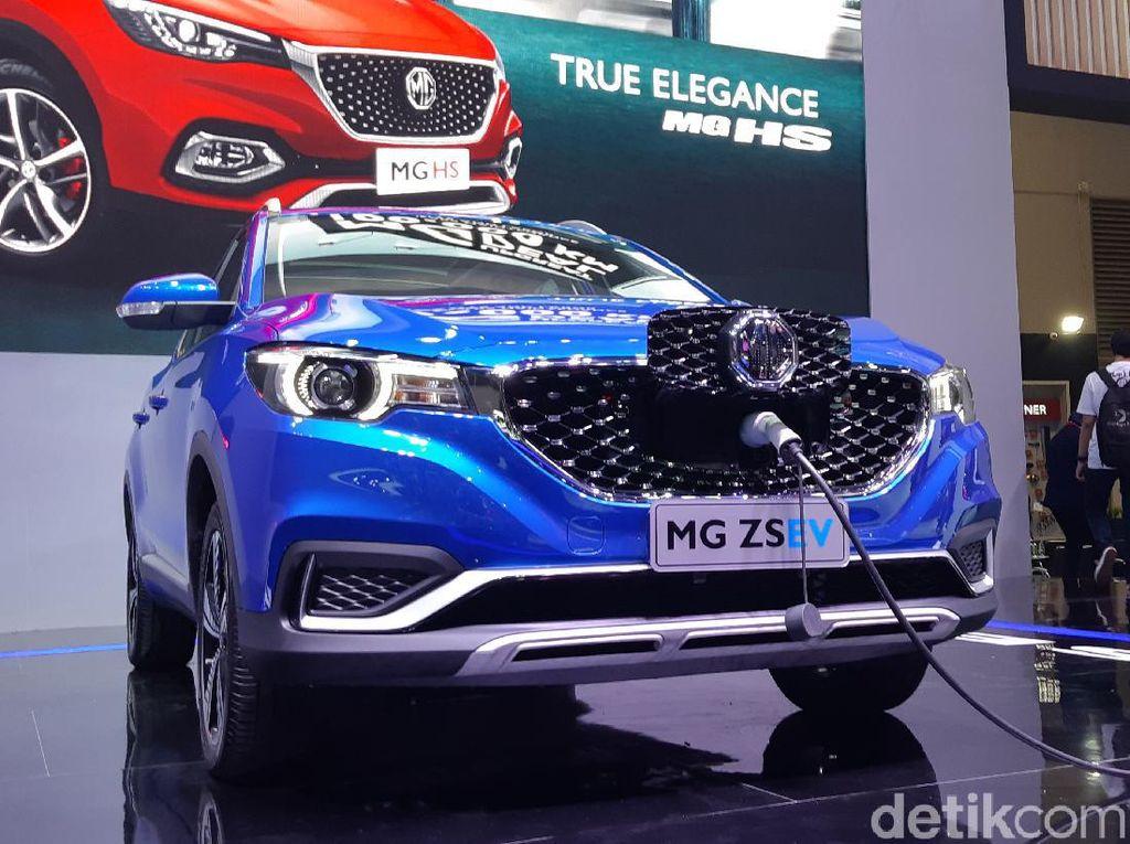 Morris Garage ZS EV Bakal Lebih Murah dari Hyundai Kona Electric di RI?