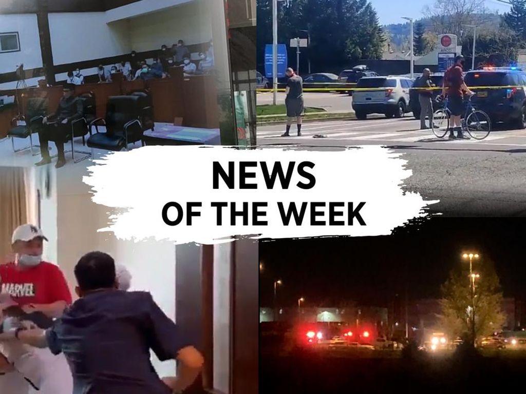 News of the Week: Panas di Sidang Rizieq, Perawat RS Siloam Dianiaya
