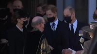 Obrolan Pangeran William ke Pangeran Harry di Pemakaman Pangeran Philip