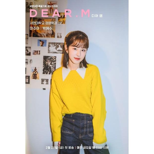 Potret karakter Ma Joo Ah yang diperankan Park Hye Soo