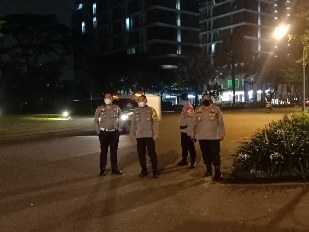 Polres Tangsel Patroli Cegah SOTR, 4 Kendaraan Diamankan