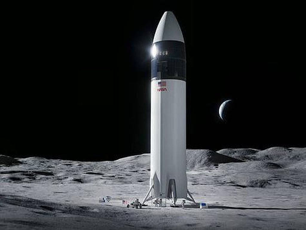Roket Elon Musk Akan Kirim Astronaut Perempuan ke Bulan