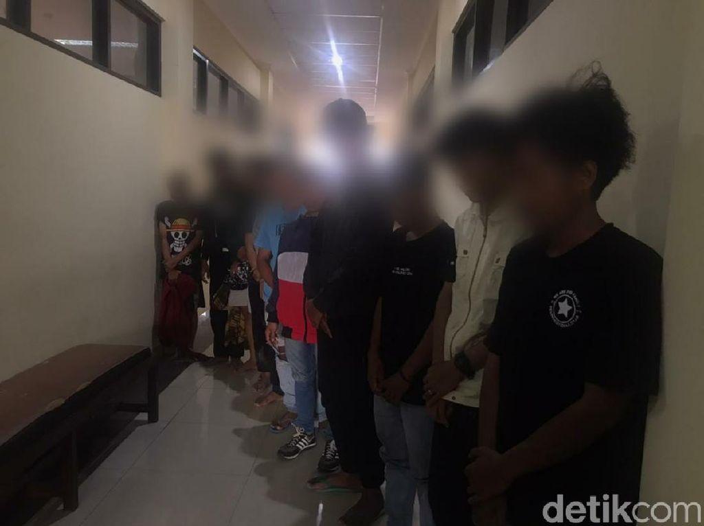 Diduga Mau Tawuran, Sejumlah Pemuda Karawang Diamankan Polisi